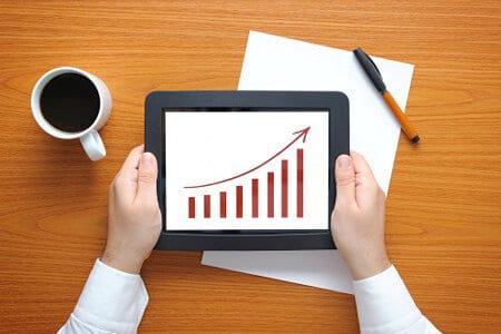Increase sales icon