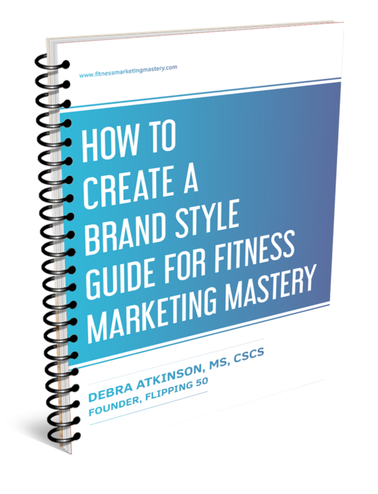 how to create a brand style guide as a fitness professional