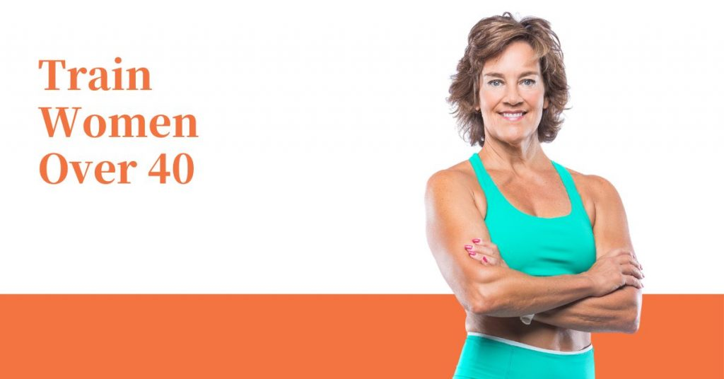 training clients in menopause