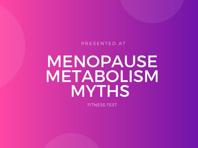 what is menopause metabolism